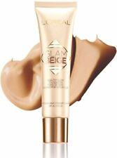 3 x L'Oreal Glam Beige Healthy Glow Foundation 30ml - Medium Light