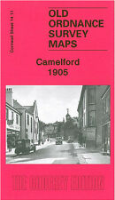 OLD ORDNANCE SURVEY MAP CAMELFORD 1905