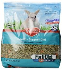 Kaytee forti Diet Pro Health Rabbit Food Juvenile Young Small Rabbits, 5-Pound