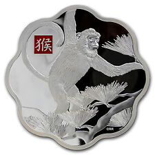 2016 Canada 1 kilo Silver $250 Year of the Monkey Prf (Colorized) - SKU #92143