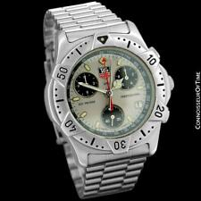 TAG HEUER 2000 Mens Chronograph Divers Stainless Steel - Mint - 2 Year Warranty