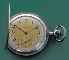 Vintage 1900's Superb Quality Niello Pocket Watch by AUDEMARS Freres Geneve
