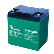 Vision HF12-155W 12V 28Ah 155W High Rate 10Yrs Long Service Life SLA Battery