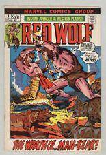 Red Wolf #4 November 1973 VG