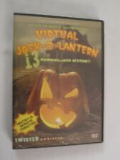 VIRTUAL JACK-O-LANTERN TWISTED AMBIENCE 13 Halloween Pumpkins with attitude. DVD