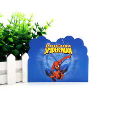 12pcs Spider Man Theme Invitation Card for Kids Child Birthday Party Invitations
