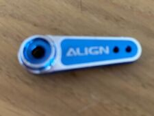 1x Align Futaba Blu Servo Horn 2.5mm Foro D6FF Metallo Servo Horn HSP61013T