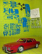 DONOR  NASCAR 1981-1985 PONTIAC GRAND PRIX STOCK CAR KIT - 1/24 - BLUE