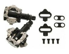 Shimano PD-M520 MTB Road Bike XC Clipless SPD Pedals with SM-SH51 Cleats - Black