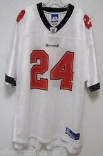 BLEMISHED NFL BUCCANEERS CADILLAC WILLIAMS #24 AWAY COLORS REEBOK JERSEY ADULT M