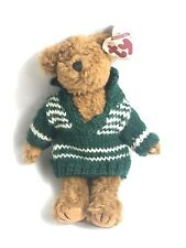 TY Collectible Beanie Baby Mason Bear Excellent Condition Sweater Great Gift
