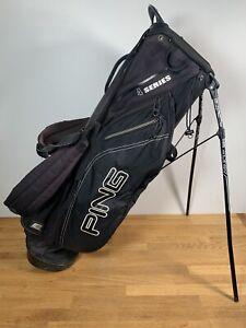 PING 4 Series Stand Bag / Black