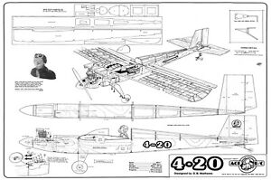 ACE R/C 4-20 plans and instructions