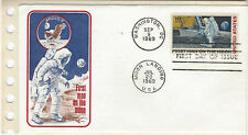 1969 Apollo II First Man On The Moon Cachet FDC Unaddressed