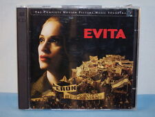 Evita: Motion Picture Music Soundtrack By Madonna Andrew Lloyd Webber 1996 2 CDs