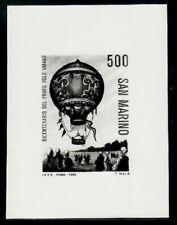 Photo Essay, San Marino Sc1053 Manned Flight Bicentenary, Aviation, Montgolfiere