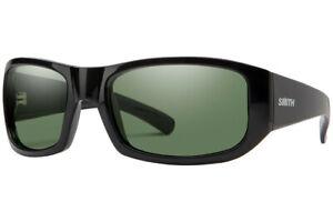 Smith Bauhaus Black Polarized Gray Green Carbonic 807 M9 Sunglasses