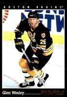 1993-94 Pinnacle Glen Wesley #383