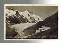 1936 Heiligenblut Austria Karl Volkert Haus Snowy Mountains RPPC postcard Cover
