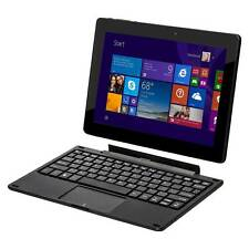 "Efun Nextbook 10.1"" 2-in-1  Windows 10 Tablet Quad Core with keyboard - Black"