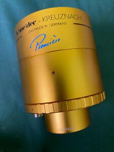 Schneider Cinelux Premiere 57.5mm Aspheric MC Varible Iris Projection lens