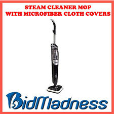 NEW STEAM CLEANER MOP W/  MICROFIBRE CLOTH COVERS FOR ALL SURFACES NO CHEMICALS