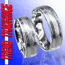 2 Trauringe Eheringe Partnerringe Verlobungsringe Silber & Gravur GRATIS * T34