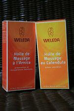 Huile de Massage au Calendula/à l'Arnica, 50ml ou 100ml – WELEDA