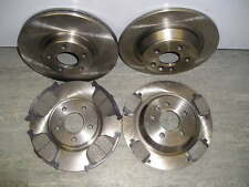 FORD KUGA FRONT AND REAR BRAKE DISCS & PADS 2008-2012 NEW COATED DESIGN