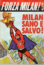FORZA MILAN!=N°1 1986=POSTER VIRDIS=NUCIARI=BARESI=SERIE A