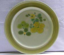 "Franciscan Earthenware Pebble Beach Dinner Plate 10 1/2"" Vintage 60s 70s"