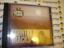 CD COUNTRY TRACKS GRAVY TRAIN PROMO JOHNNY CASH+ RARE!!