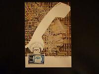 FRANCE PREMIER JOUR FDC YVERT 2317 ETUDE DES TELECOMMUNICATIONS  3 F PARIS  1984