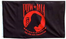3x5 Pow Mia POWMIA Red You are Never Forgotten Flag 3'x5' House Banner grommets