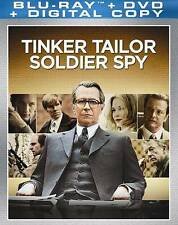Tinker, Tailor, Soldier, Spy (Blu-ray Disc/DVD, 2012, UltraViolet) - NEW!!