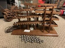 1979 Idle-Tyme Rolling Ball Kinetic Clock by Harley Mayenschein