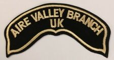 HARLEY DAVIDSON OWNERS GROUP HOG AIRE VALLEY BRANCH UK CHAPER VEST PATCH NEW