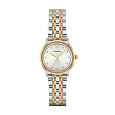 Emporio Armani AR1963 Silver/Gold Stainless Steel Analog Quartz Women's Watch