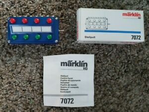 Marklin - Stellpult Control Box - #7072 - HO - USED in Box