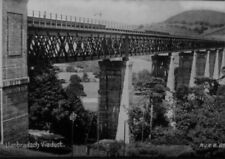 PHOTO  LLANBRADACH VIADUCT IN THE 1930'S