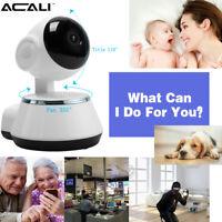 ACALI Wireless WiFi HD 720P CCTV Home/Baby/Shop/Pet Security IP Camera Pan/Tilt