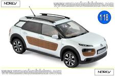Citroën C4 Cactus 2014 Pearl White & Chocolate Airbump  NOREV - NO 181651 - 1/18