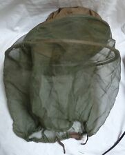 """Nylon Net Insect Mosquito Protection Green Hat 24"""" Long"""