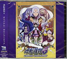 GAME MUSIC-GYAKUTEN SAIBAN6 ORIGINAL SOUNDTRACK-JAPAN 2 CD G88