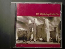 U2 The Unforgettable Fire Cd Excellent Condition