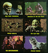 """The OUTER LIMITS (DuoCards/1997) Complete """"CASE TOPPER"""" Chase Card Set (D1-D6)"""