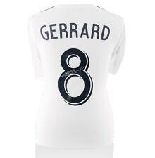 Steven Gerrard Signed Adidas Shirt Number 8 - Career Celebration Edition