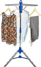 Andrew James Clothes Airer Indoor Folding Large Dryer Hanging Rail with 3 Arms