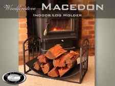 FIREWOOD RACK Indoor Log Rack / Storage 'MACEDON' WOOD HOLDER  *Free Shipping