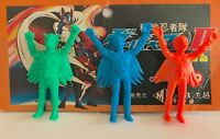GATCHAMAN POPY 1970S BATTLE OF THE PLANETS TV JAPAN KESHI TOY FIGURES SET OF 3!!